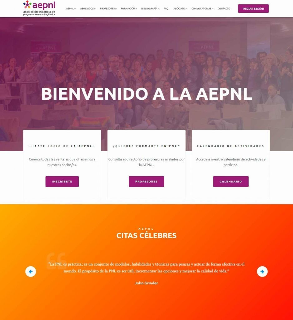 Diseño Web para AEPNL