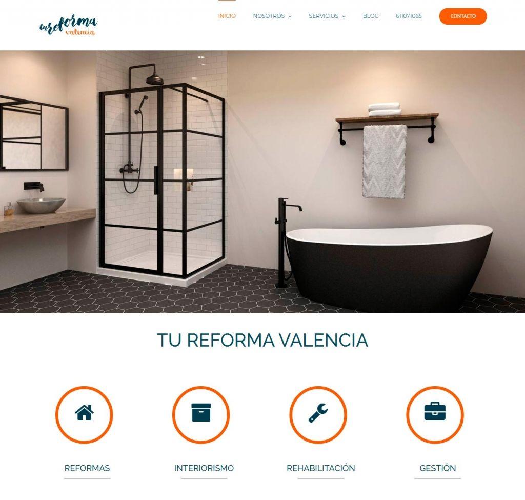 Diseño Web para Tu Reforma Valencia
