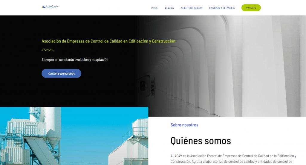 Diseño Web para Alacav