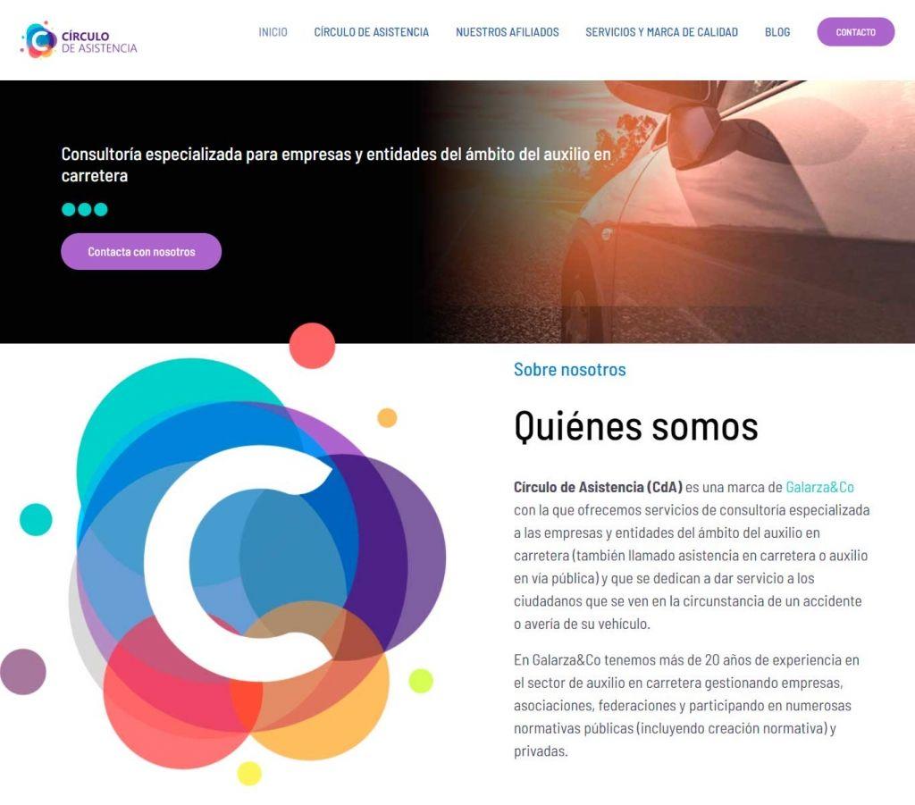 Diseño Web para Círculo de Asistencia