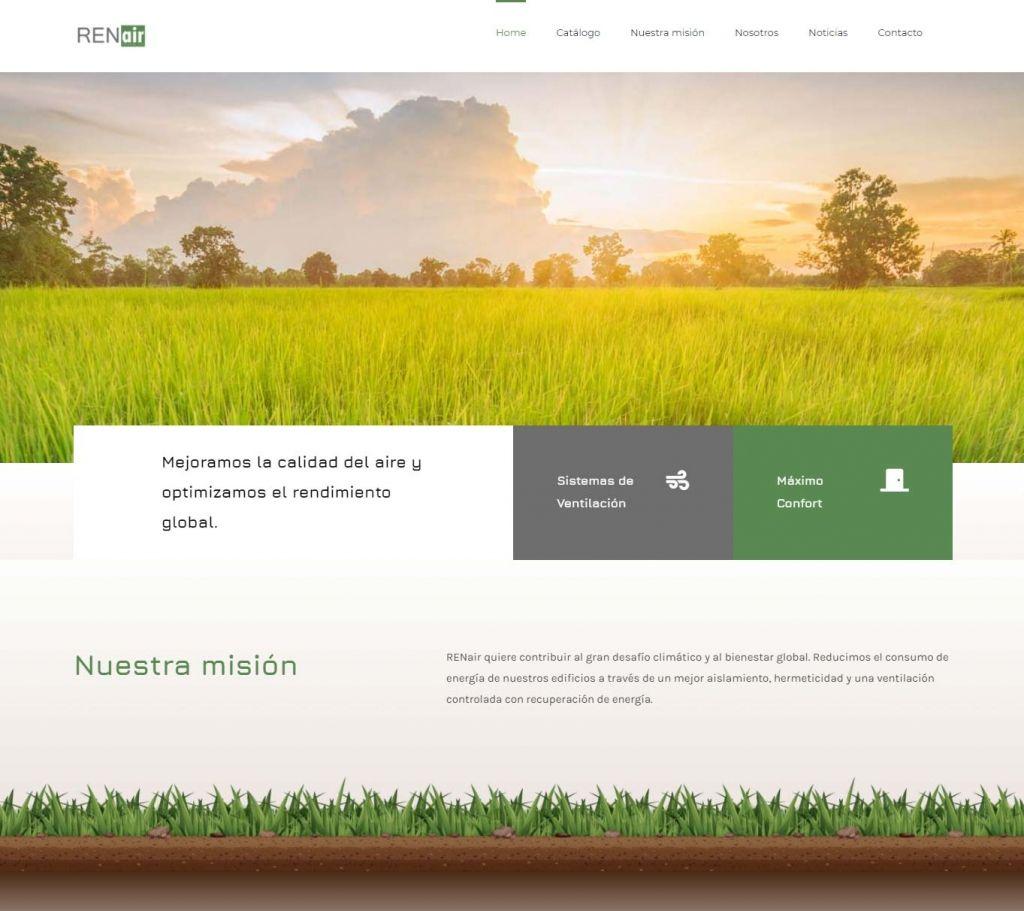 Diseño Web para Renair