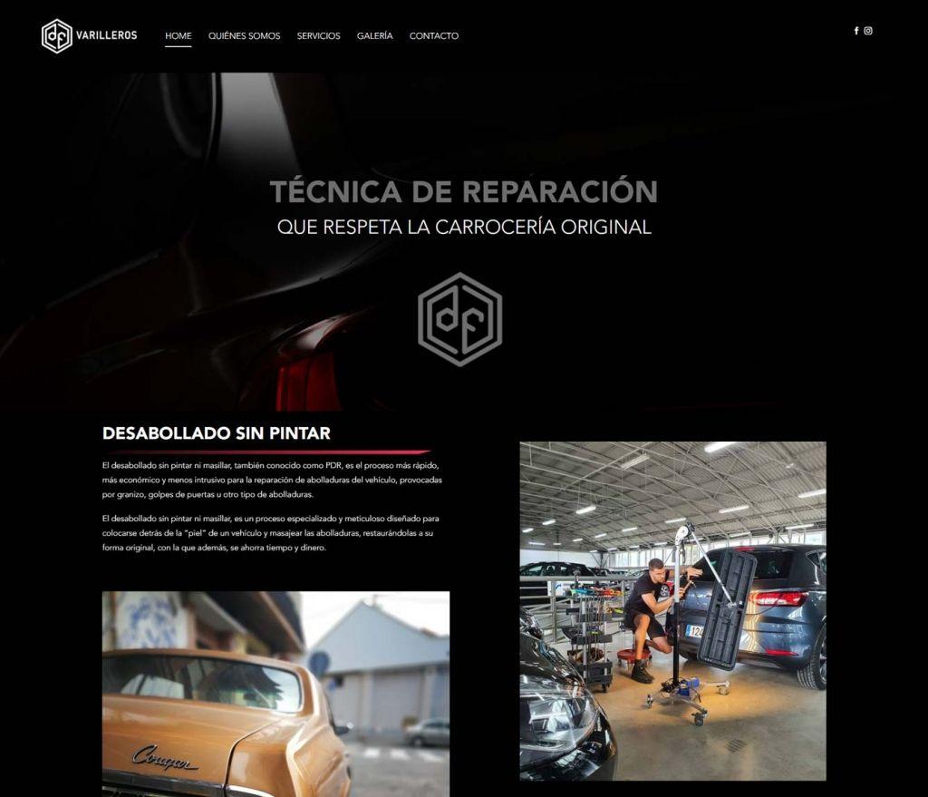 Diseño Web para DF Varilleros
